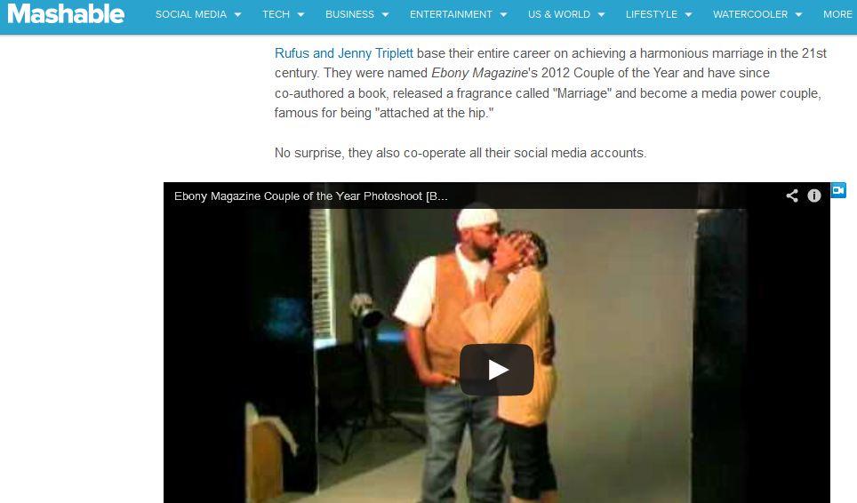 Social Media Power Couple on Mashable