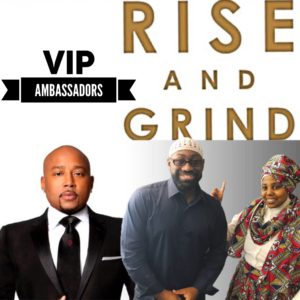 Rufus and Jenny Business, Jenny and Rufus Media, Who are Rufus & Jenny, VIP Ambassadors for Daymond John, Rise and Grind