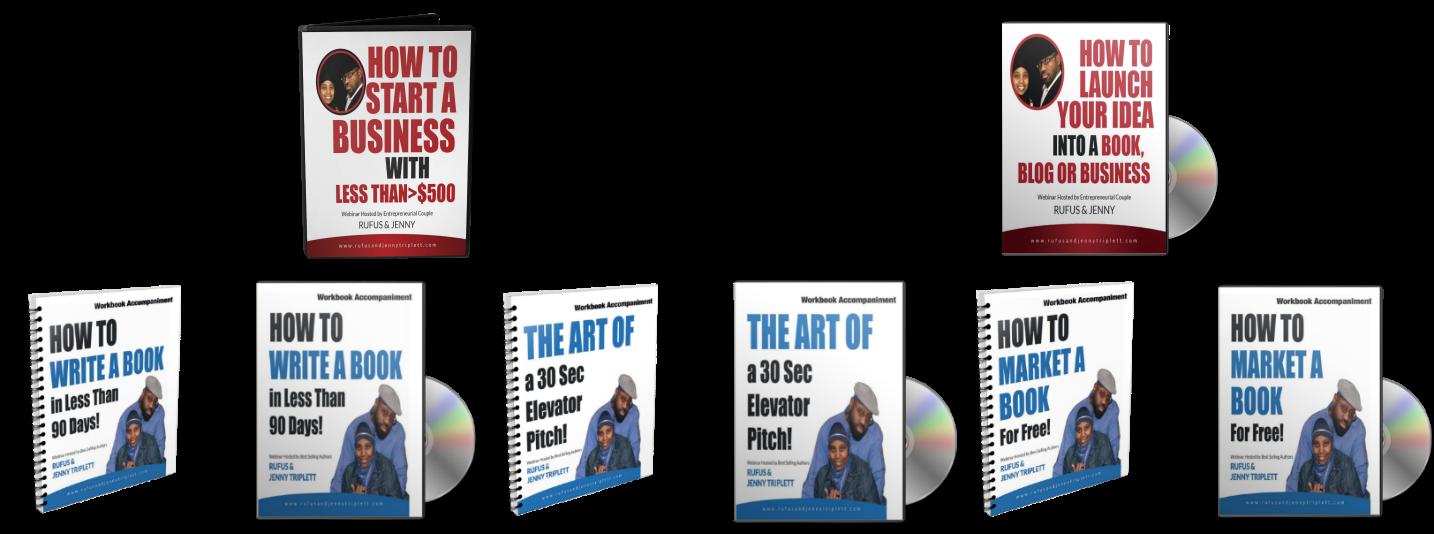 All Five CDs/DVD + Workbook Set