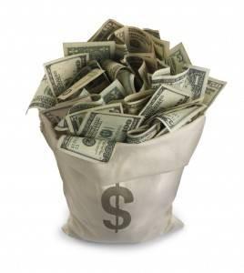 Million Dollar Bag on Rufus and Jenny Triplett.com