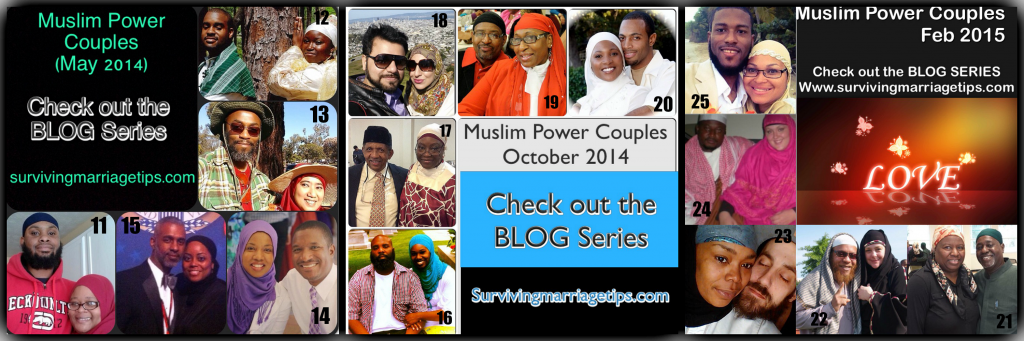 american and muslim marriage celebrations