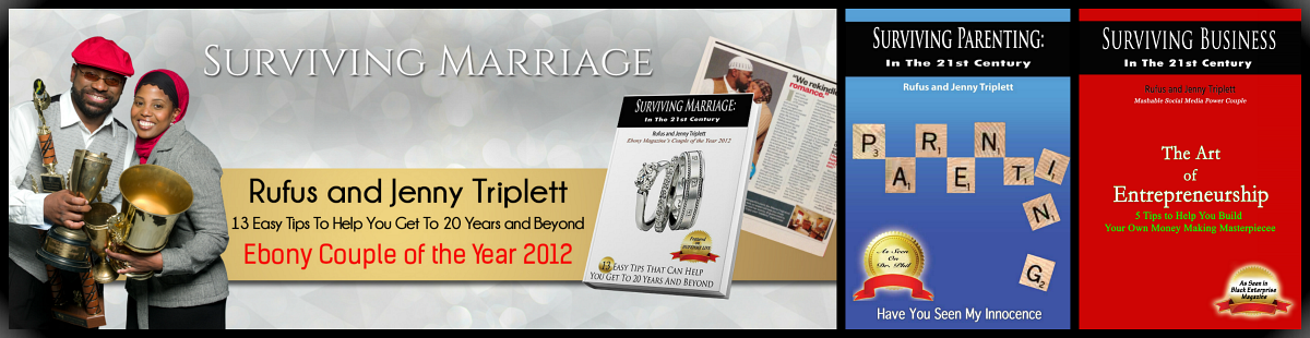 jenny triplett, rufus triplett, Ebony Magazine, Couple of the Year, surviving marriage, wedded bliss, rufus and jenny