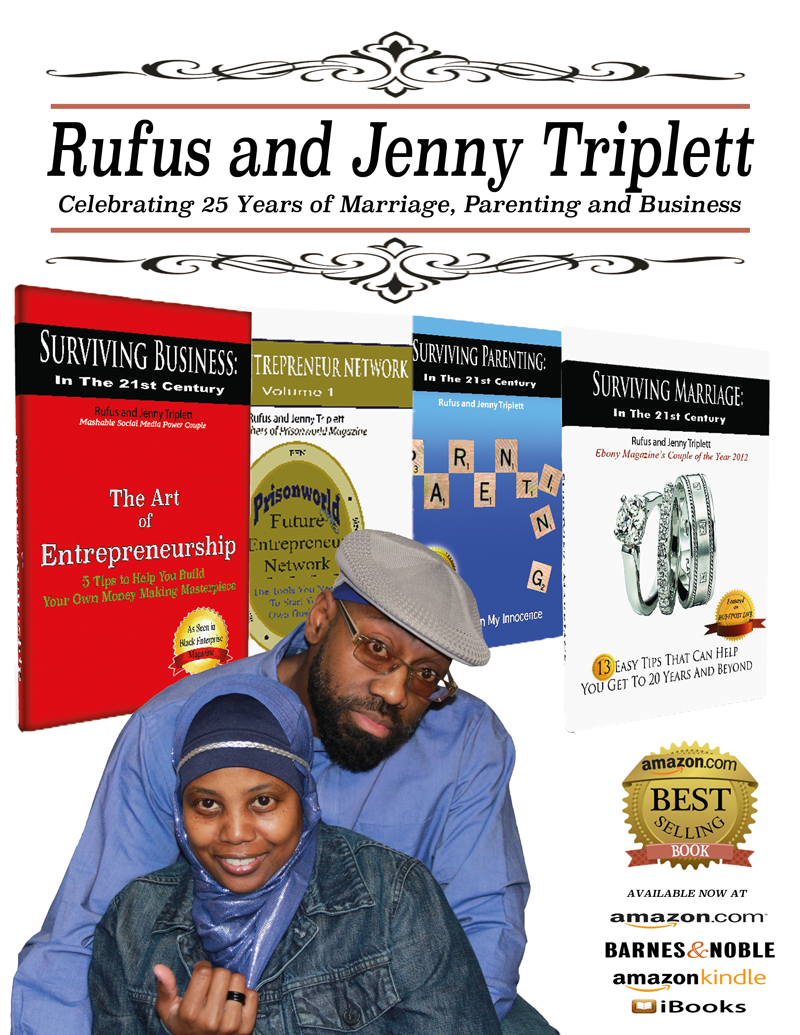 Surviving Series Books, Jenny triplett, Rufus Triplett, 25 years of marriage