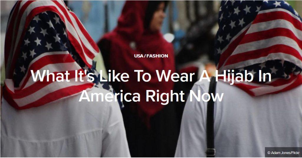 Muslim Culture, Muslims in the USA, American Muslims in hijab, muslim travel ban, bhurkini ban, jenny triplett