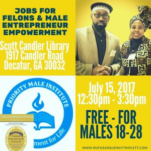 Jobs For Felons and Entrepreneur Event @ Scott Candler Public Library | Decatur | Georgia | United States