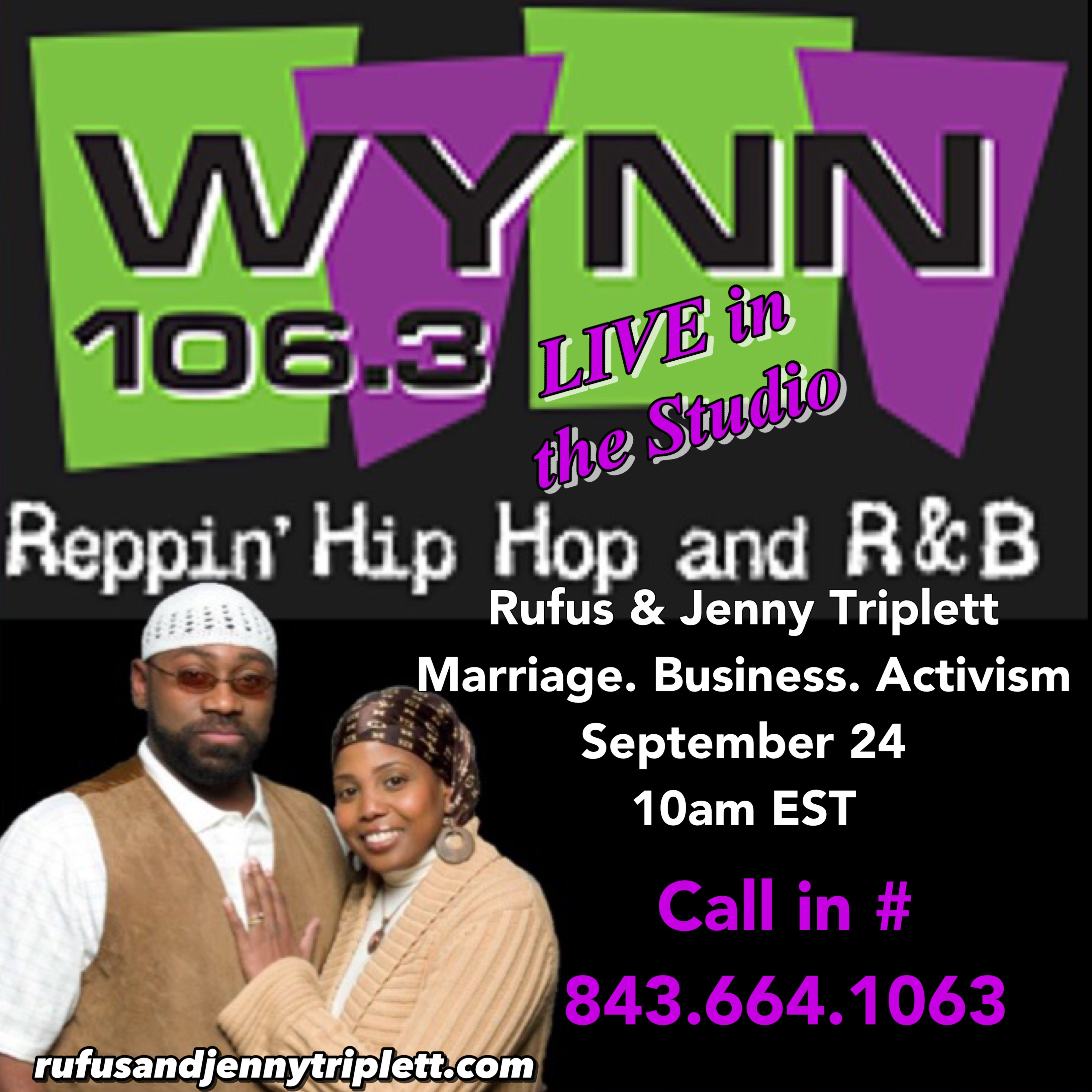 WYNN 106.3, Surviving Marriage, jenny triplett, marriage advice, rufus triplett, surviving marriage, surviving marriage in the 21st century