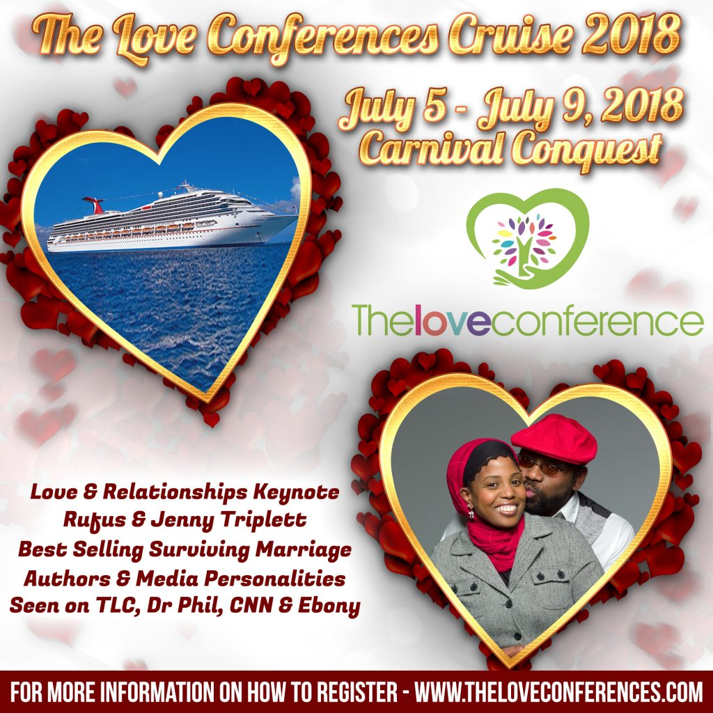 The Love Cruise, Rufus and Jenny Triplett, Ebony Magazine Couple of the Year, The love Conference, wanda wallce, rufus and jenny, love cruise, the love boat