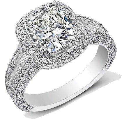 Engagement Ring on Rufus and JennyTriplett.com