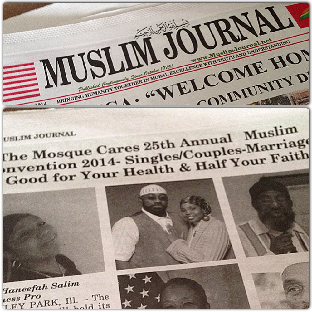 Jenny and Rufus Triplett in the Muslim Journal on Rufus and Jenny Triplett.com