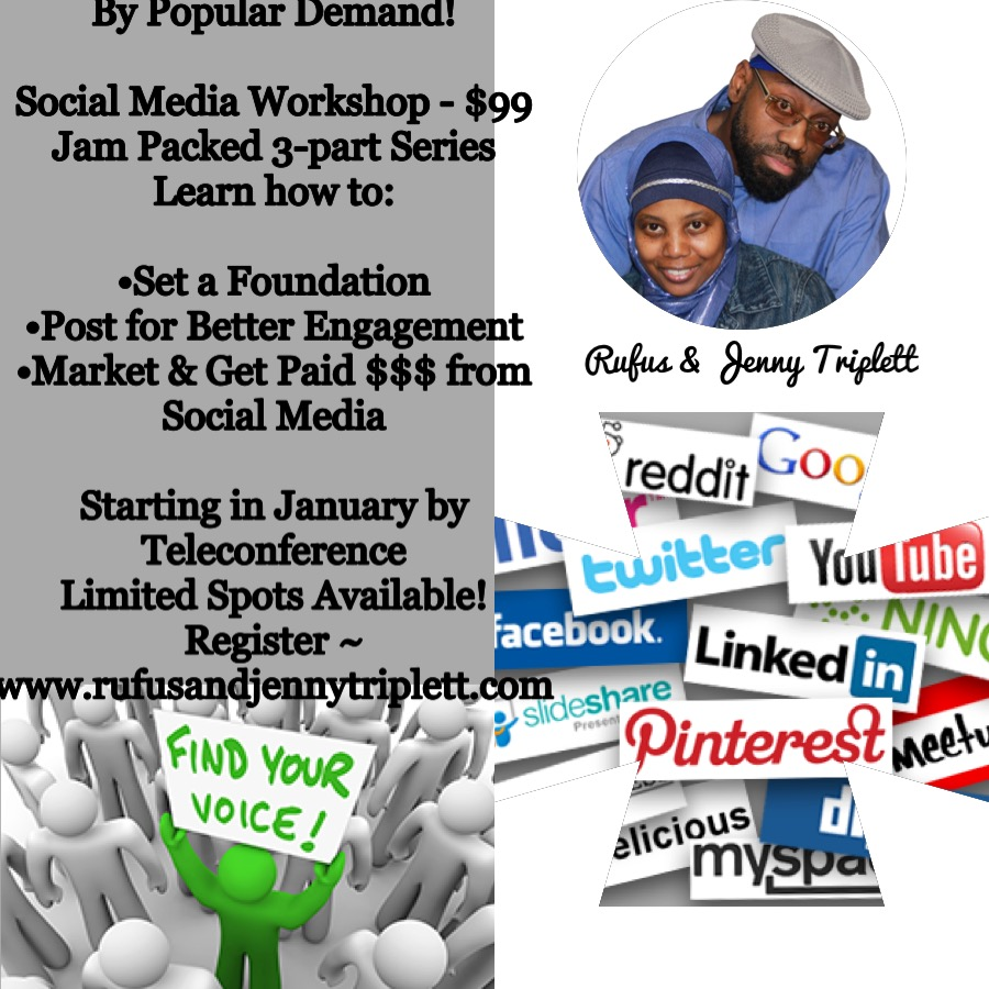 Jenny Triplett Social Media Workshop